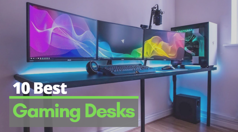 best gaming Desks in 2020 - best gaming desk under 200 usd